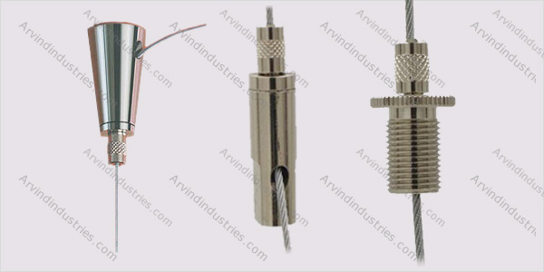 Brass Cable Gripper Cable Hangers Cable Grippers Micro